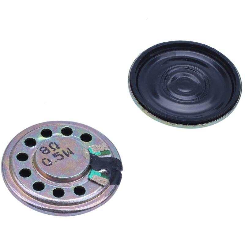 2PCS 8Ω 2W Audio Lautsprecher Stereo Lautsprecher Trompete Horn 28//30//36//40 C/_W