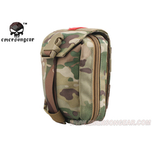 emersongear Emerson EDC Pouch Combat Airsoft First Aid Kit Pouch Medic Pouch Molle Nylon Survival Bag Outdoor Sports Modular emersongear molle pouch 500d camo edc battle field medic emt pouch concealed glove tactical army pouch 10 colors em9336