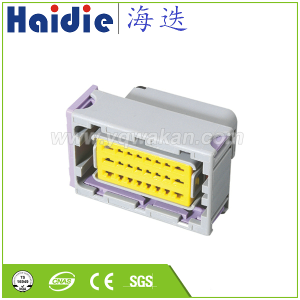 Free shipping 2sets FCI 24pin Oil to gas computer board ECU plug 24 line car 24 way ECU connector 211 PC249S8005 211PC249S8005 Connectors    - title=