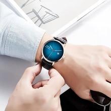цена на New Fashion Male Clock Casual watches men Business Leather Band watch Quartz Wristwatch Sport reloj hombre relogio masculino