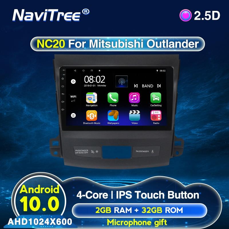 Автомагнитола Mitsubishi Outlander xl 2 2005 2011, 9 дюймов, IPS 1024*600, Android, 2G + 32G, bluetooth, usb, задняя камера|Мультимедиаплеер для авто|   | АлиЭкспресс