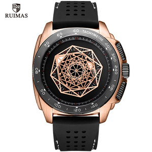 Image 1 - Watches Men Sports Watches Military  Quartz Wrist  Men  Watch Waterproof Clock Male Relogio Masculino Silicone Black
