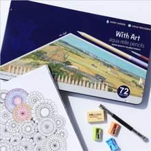 72 цвета масляные цветные карандаши набор эскиз карандаш нетоксичный