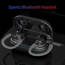 TWS X9 Pro High End bezprzewodowe sportowe słuchawki bluetooth 5.0 słuchawki z mikrofonem etui z funkcją ładowania uniwersalny zestaw słuchawkowy stereo dla inteligentnego telefonu