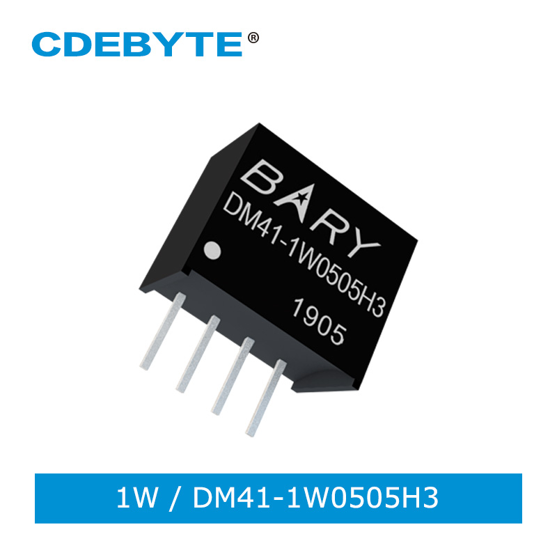 Isolated Step Down DC-DC Constant Voltage Power Supply Module 1W Voltage Regulator DM41-1W0505H3 Charging Board