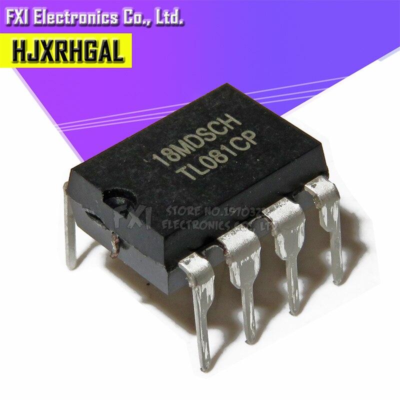 10PCS TL081CP DIP8 TL081C TL081 DIP New Original