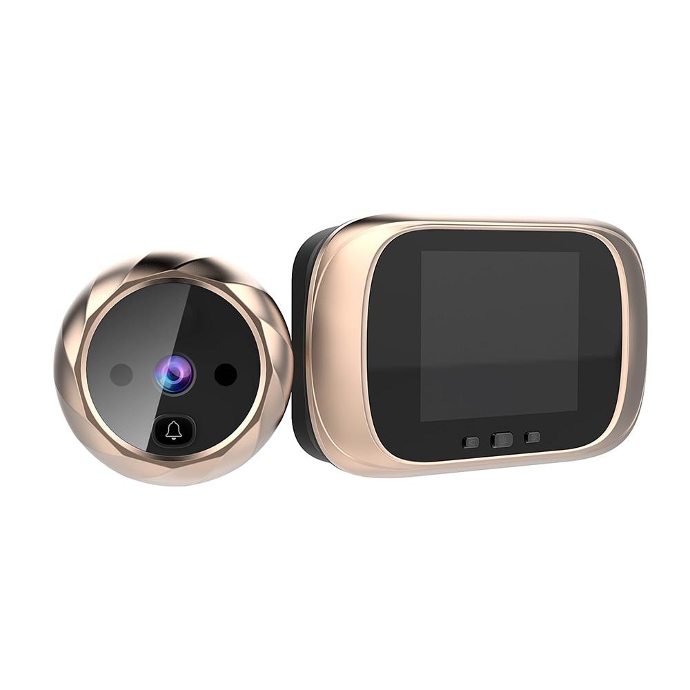 Visual Doorbell Smart Cat Eye Visual Doorbell Intelligent Visual Cat Eye Electronic Cat Eye Door Mirror With Memory Function