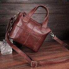 Cobbler Legend, bandolera de cuero genuino, bolsos de mano de Patchwork para mujer, bolso de mano, bandoleras cruzadas para mujer