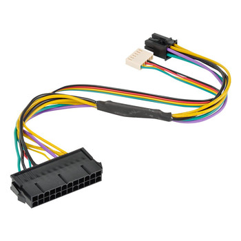 atx 24pin to 2 port 6pin adapter cable for hp z220 z230 sff server workstation motherboard psu power supply converter cord 30cm Computer Connectors Cables 24 Pin to 6 Pin PCI-E ATX Main Power Supply Adapter Cable 18AWG For HP Z220 Z230 Workstation