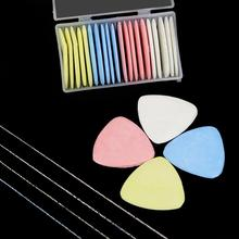 10Pcs/lot Colorful Erasable Fabric tailors chalk Fabric Patchwork Marker Clothing Pattern DIY Sewing Tool Needlework Accessories