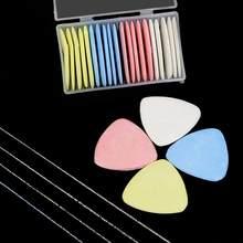 Marcador colorido apagável de tecido, alfaiate para tecido, giz, patchwork, roupas, padrão diy, ferramenta de costura, acessórios de bordado, 10, pçs/lote