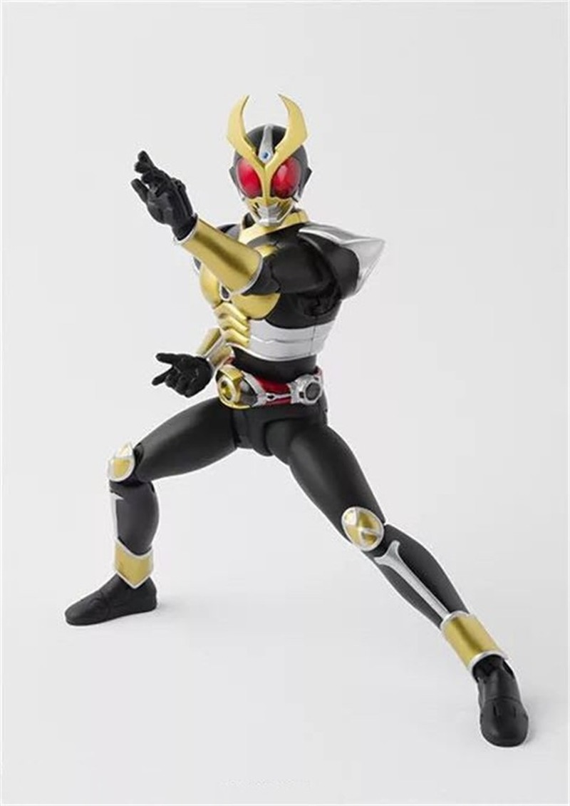Image 5 - Masked Rider Kuuga Kamen Rider BJD black figure Anime Action Figure PVC New Collection figures toys 16cmAction & Toy Figures   -