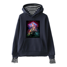 Stranger Things Fake Two Piece Hoodie Men Women 2019 New fashion Favorite popular American TV series Autumn Winter Sweatshirts