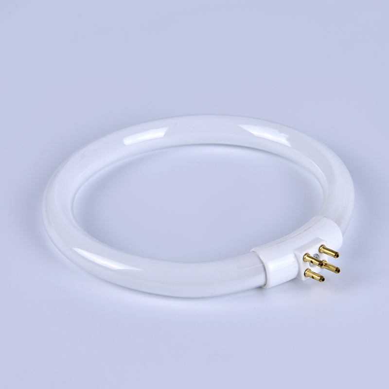 11W <font><b>T4</b></font> Round Annular <font><b>Tubes</b></font> Anti-four-pin Lamps Bulb Fluorescent Ring Lamp White <font><b>Tube</b></font> With 4 Pins image