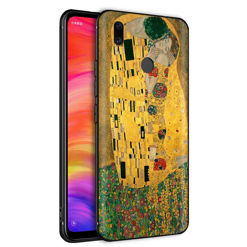 YIMAOC Gustav Klimt suave TPU caso para xiaomi redmi mi nota MAX 3 6 6A 7 mi 6 mi 8 9 se a1 a2 Pro Lite ir pocophone f1