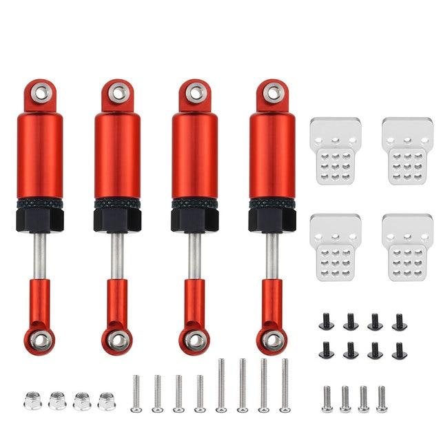 Mise à niveau des pièces ensemble de chocs Sbsorbers pour 1/16 voiture RC WPL camion C14 C24