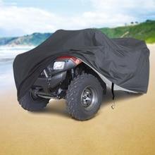 Cubiertas para Motor de playa ATV, cubiertas para moto, resistentes al agua, a prueba de lluvia, polvo, Protector solar UV, 190T, D20