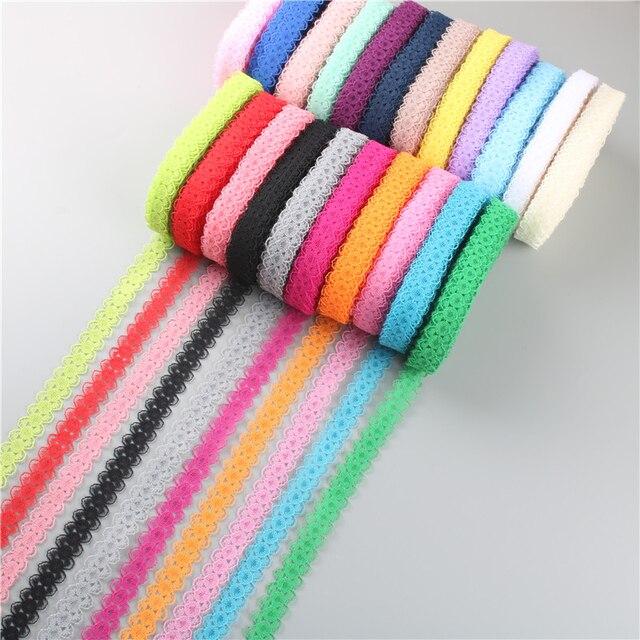 10 yards beautiful lace ribbon DIY hand children's clothing underwear wedding dress women's wear accessories lace fabric 14mm