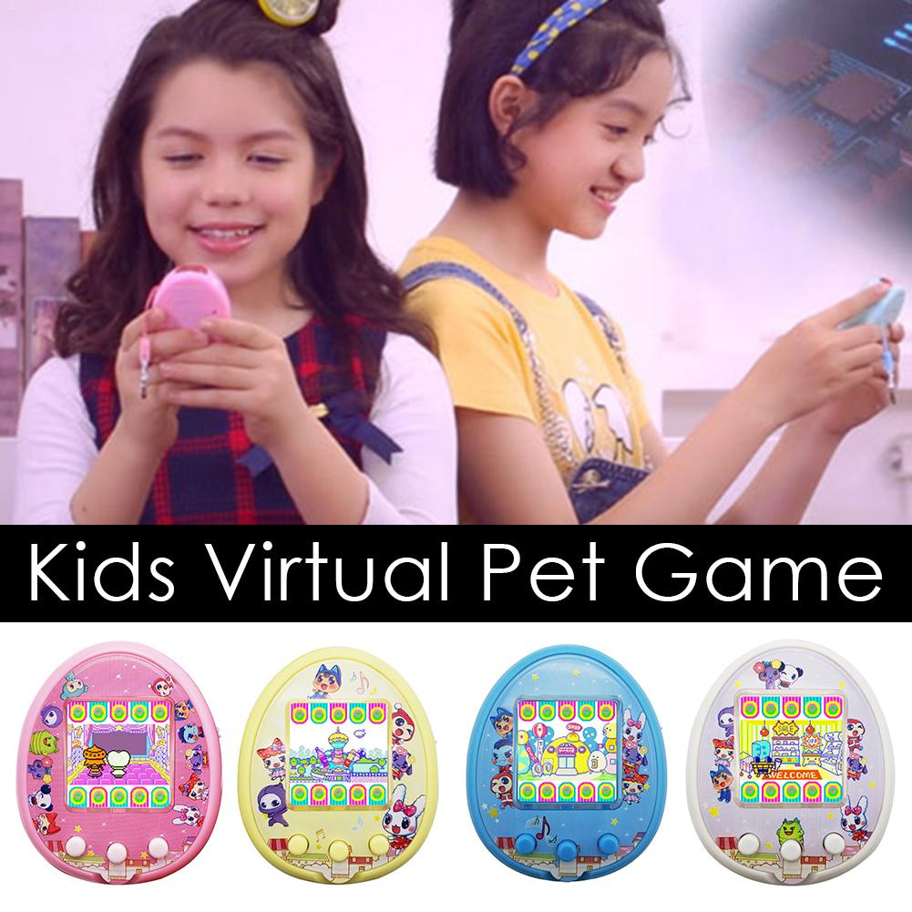 Puzzle Interactive Virtual Pet Game Machine Toy For Children Electronic Controller Puzzle Micro Parenting Game Machine Gift