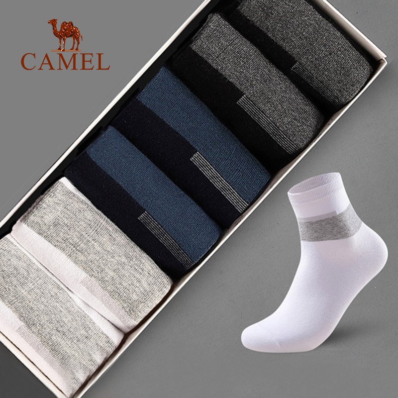 CAMEL 6Pairs Men Socks Winter Cotton Warm Middle Tube Sports Casual Breathable Bussiness 2019