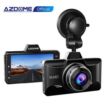 AZDOME M01 Pro Dash Cam 3-Inch 2.5D Screen 1080P HD Car DVR Recorder Driver Night Vision 24H Park Monitor G-Sensor for Uber