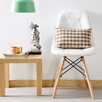 цена на Nordic INS Restaurant Furniture Chair Dining Room Modern Pu China Iron Chair Wood Kitchen Dining Chairs for Dining Rooms Sofa