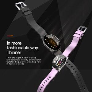 Image 4 - Reloj inteligente W8 para Android, reloj inteligente deportivo resistente al agua, con control del ritmo cardíaco y de la presión sanguínea de hombre y mujer