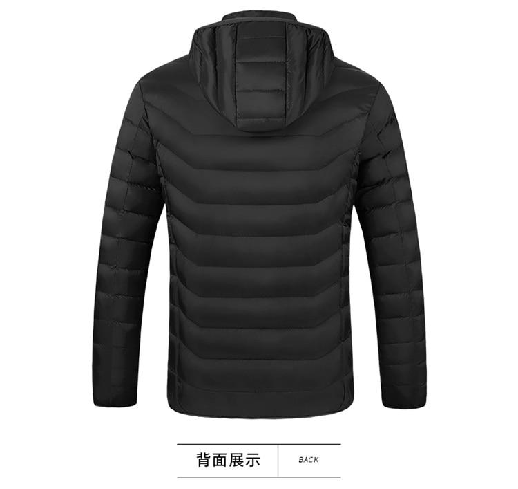 H871231f9fd2f42bbb5297b26097b5c2cv 3 Color Heated Winter Jacket