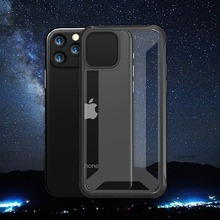 Simple Translucent Phone Case for IPhone 11 Luxury Hard PC Cover Pro Max Coque X XR XS Armor Protective