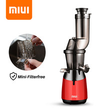 MIUI Slow Juicer Press 7 Tingkat Lambat Masticating Juice Extractor Mini-FilterFree Dipatenkan Cekatan Desain 2020 PLUS Model(China)