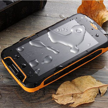 F605 Cheapest Waterproof Smartphone 4.5'' WIFI 3G WCDMA Dual Sim Quad Core 5MP Mobile