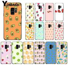 Yinuoda fashion cute fruit Custom Photo Soft Phone Case For Samsung GALAXY S9 plus S3 S6 7 8 9 S10 E S9 Mobile Cover(China)