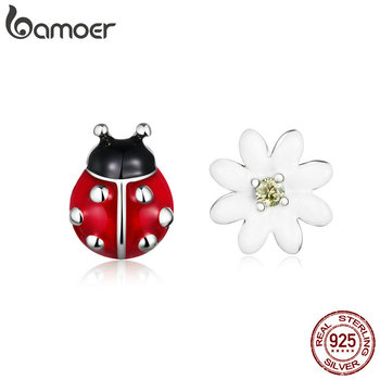 bamoer Sterling Silver 925 Jewelry Garden Elves Long Stud Earrings for Women Fine  Brincos SCE917 - discount item  46% OFF Fine Jewelry