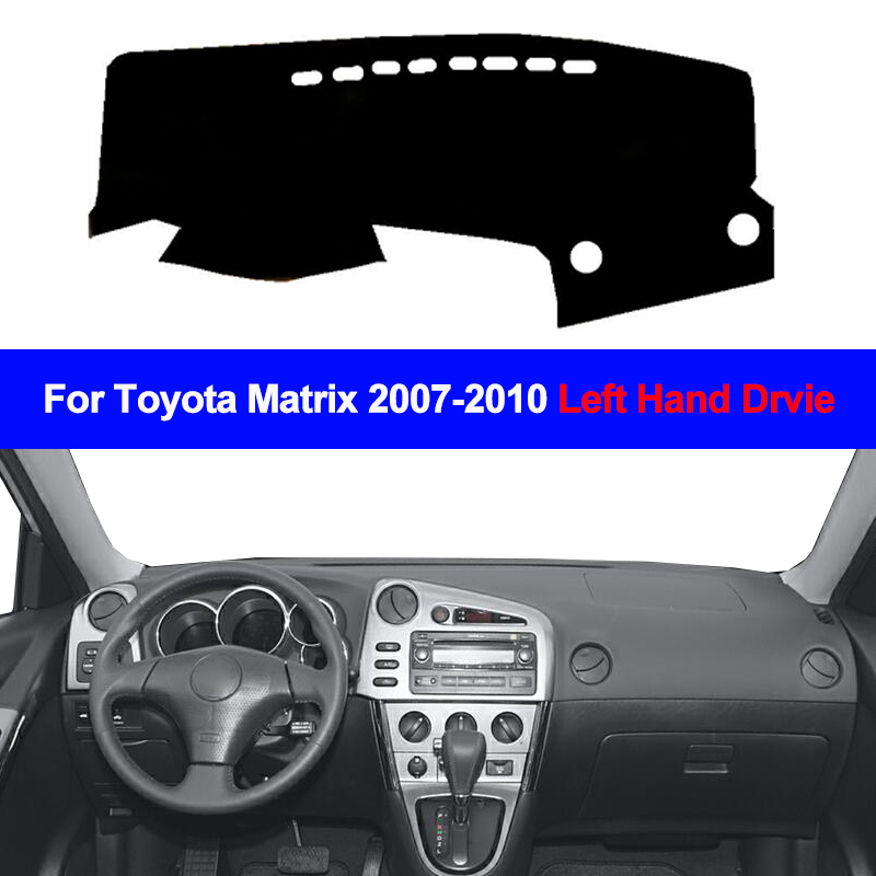 2 Layers Car Auto Inner Dashboard Cover Dashmat Carpet Cape For Toyota Matrix 2007 2008 2009 2010 Sunshade Dash Mat Anti-dirty
