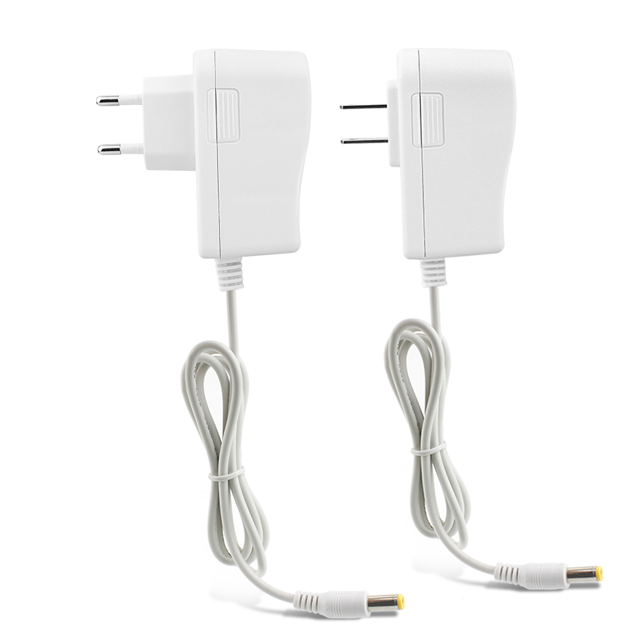 1 x EU US Plug 24W Adapter Driver AC <font><b>110V</b></font> 220V to DC <font><b>12V</b></font> 2A 5.5*2.1mm Lighting Transformers <font><b>12V</b></font> LED Strip Light <font><b>Power</b></font> <font><b>Supply</b></font> image