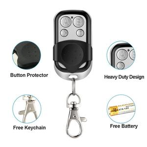 Image 5 - 4 Channel Cloning Garage Door Remote Control Gate Control Barrier 433.92MHZ Fixed Code Remotes Command