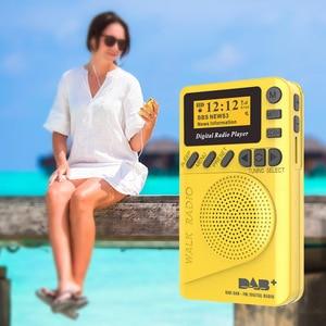 Image 5 - נייד P9 MP3 נגן מיני כיס דיגיטלי DAB רדיו FM ממצת אפנון דיגיטלי עם LCD תצוגת מסך מולטימדיה נגן TF כרטיס
