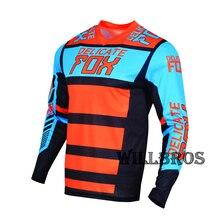 Mountain-Bicycle Jersey Racing t-Shirt Moto Race-Falcon Fox-180 Delicate Offroad Long-Sleeve