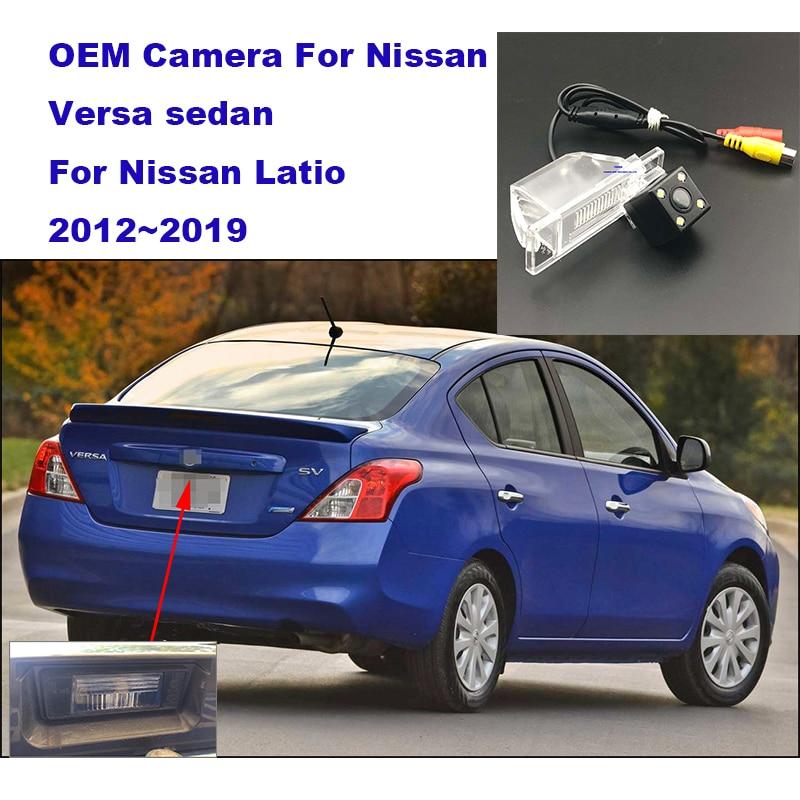 Yessun HD CCD Night Vision Car Rear View Backup Camera For Nissan Versa Sedan For Nissan Latio 2012~2019 Parking Camera