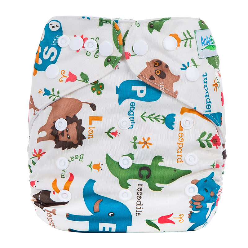 Cloth Reusable Diapers Factory Eco Friendly Portable Travel Hot Diaper Adjustable Eco Baby Cloth Diapers L8