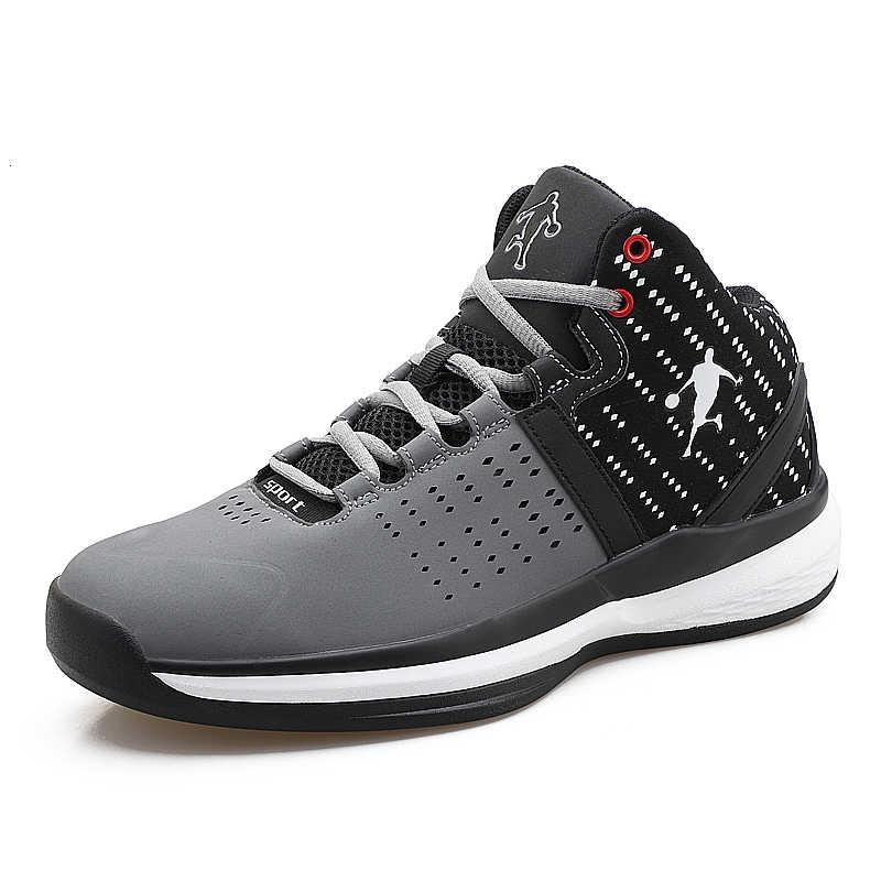 Boussac Thoáng Khí Jordan Giày Bóng Rổ Nam Retro Cao Hàng Đầu Không Đệm Giày Man Chống Sốc Giày Thể Thao Ngoài Trời Nam