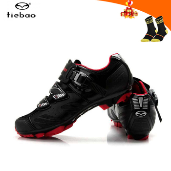 Tiebao sapatilha ciclismo mtb mountain bike shoes breathable self-locking outdoor cycling shoes men women riding bicycle shoes