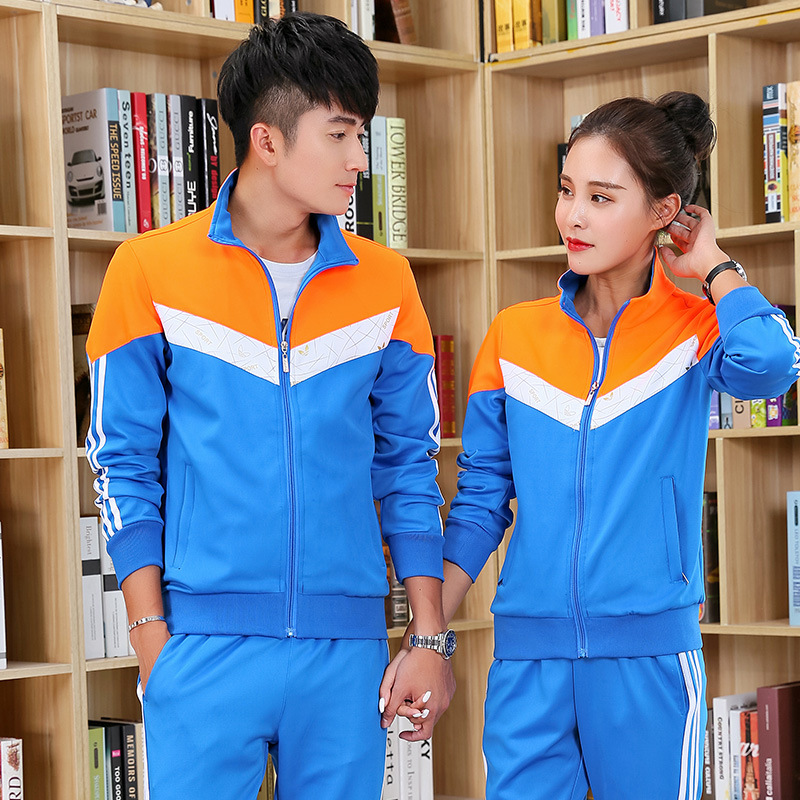 New Style Spring And Autumn Junior High School STUDENT'S School Uniform Business Attire Sports Set High School School Uniform Co