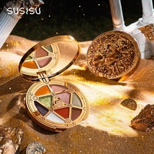 SUSISU Lucky Coins 9 Color Eyeshadow Palette Matte Shimmer G