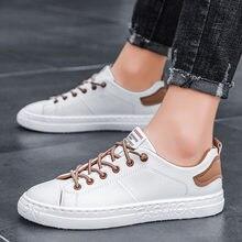 Frühling Neue Atmungsaktive Männer Casual Mode Schuhe 2020 Trend Bequeme Herren Weiße Turnschuhe Zapatillas Hombre Deportiva