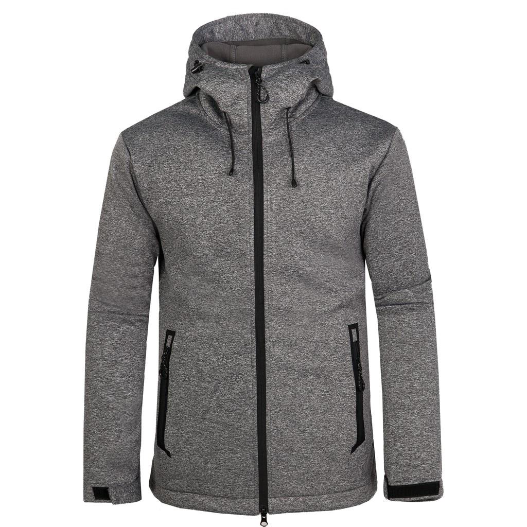 Men Windbreaker Waterproof Jacket Outdoor Sport Camping Hiking Winter Jacket Quick Drying Breathable Softshell Jacket Men Coat