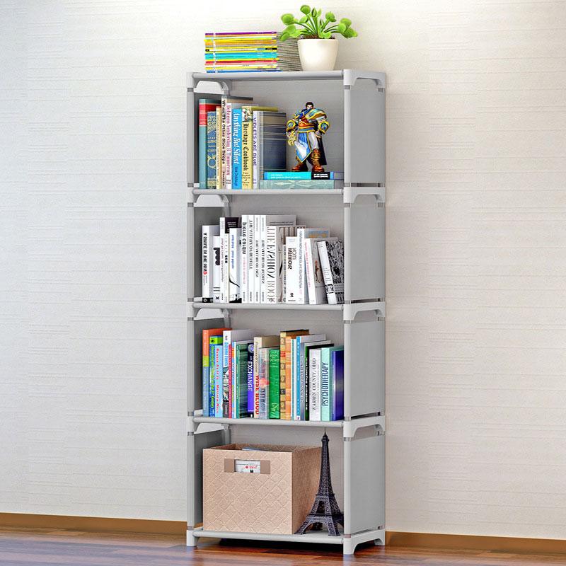 GIANTEX Bookshelf Storage Shelve for Books Children Book Rack Bookcase for Home Furniture Boekenkast Librero Estanteria Kitaplik|  - title=
