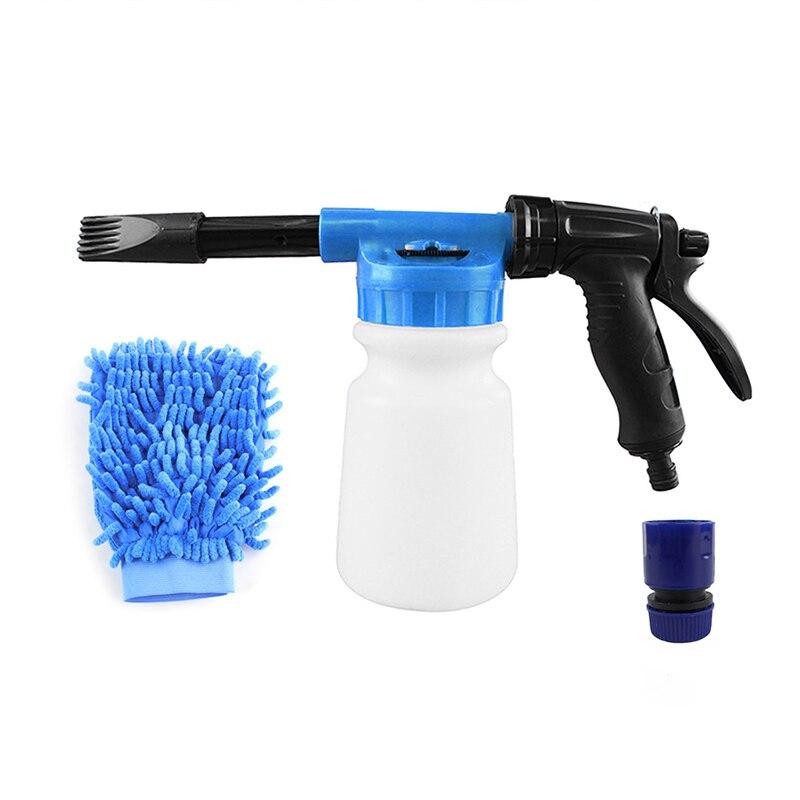 Pulverizador para lavar carro, pistola portátil para lavar carro de alta qualidade, durável, ajustável, removível