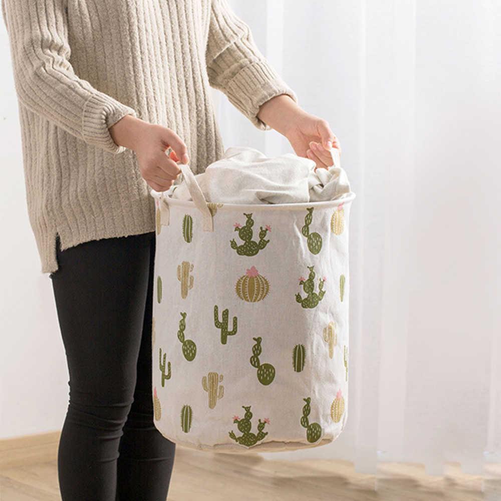 Haushalt Kleidung Wäsche Körbe Klapp Wäsche Korb Große Kapazität Kleidung Lagerung Tasche Kid Spielzeug Lagerplätze Organizer