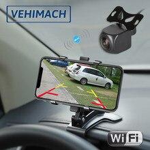 Drahtlose Wifi Parkplatz Kamera Auto Reverse Monitor 1080P 170 ° Wasserdicht 12V 24V Backup Rück Für Auto back Up Rückansicht Objektiv
